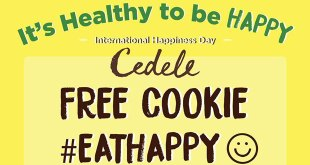 FREE cookie at Cedele