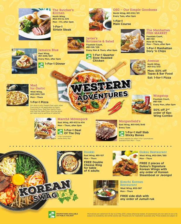 Suntec-City-1-for-1-F&B-deals-21-May-2017