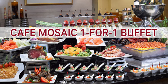 Remarkable Carlton Hotel Cafe Mosaic 1 For 1 Buffet Promotions For Home Interior And Landscaping Ponolsignezvosmurscom