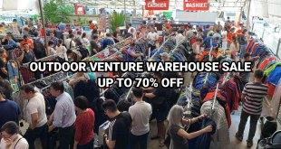 Outdoor Venture Warehouse Sale 2019