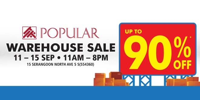 Warehouse Sale at Popular Bookstore
