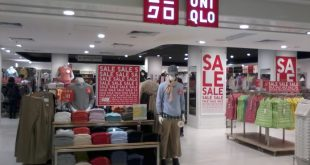 Uniqlo Singapore sales for 2019