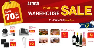 AzTech Warehouse Sale 2019