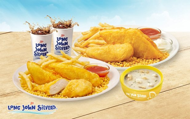 Long John Silver's x Fave: $11 Meal for 2
