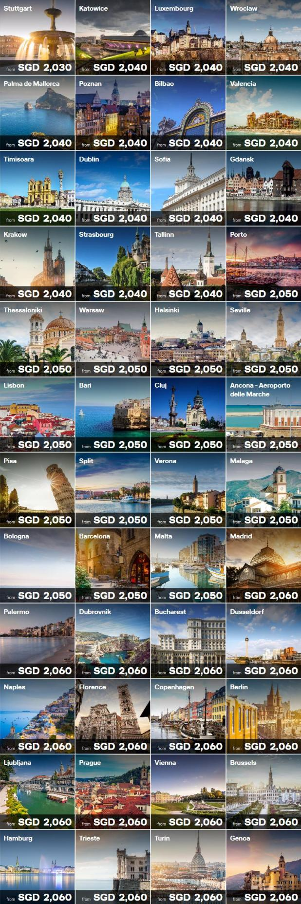 Lufthansa' Special Offers