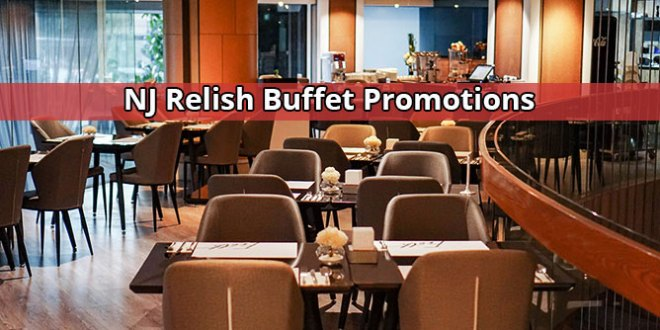 NJ Relish Buffet Promotions