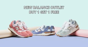 New Balance Outlet Sale: Buy 1 Get 1 Free