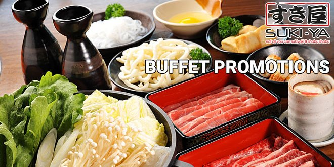 buffet promotions at Suki-Ya