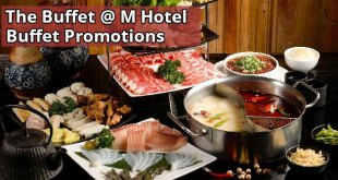 The Buffet @ M Hotel Buffet Promotions