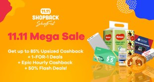 11.11 Mega Sale Shopback 2019