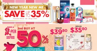 New Year Sale at Watsons 2020