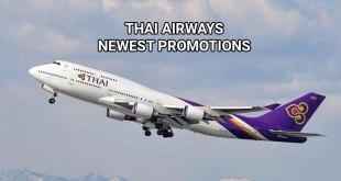 Thai Airways Promotion For 2019