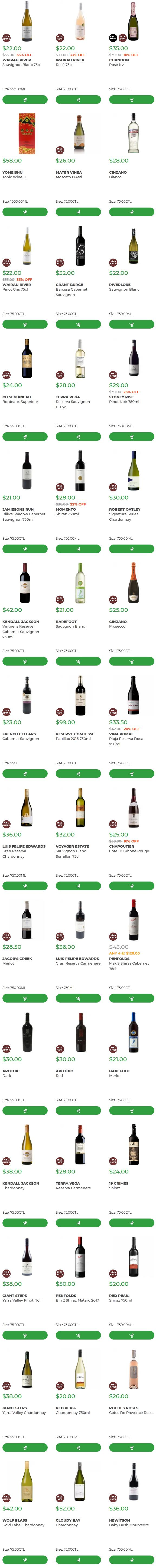 Wine Offer: 33% OFF + Extra 10% OFF 6 Feb 2020
