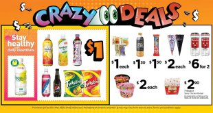 7-eleven Crazy Deals from now until 3 Mar 2020
