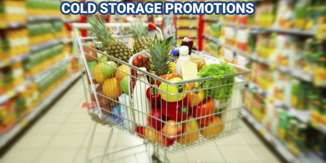 Groceries deals at Cold Storage