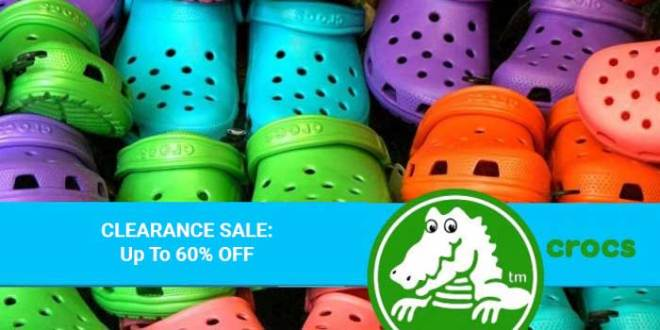 CROCS sale for Mar 2020
