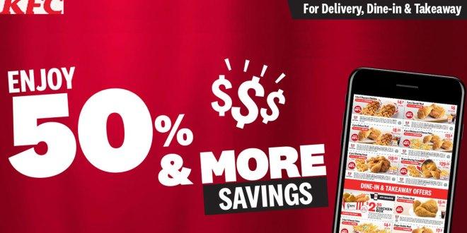 KFC Coupons - 50% OFF & more