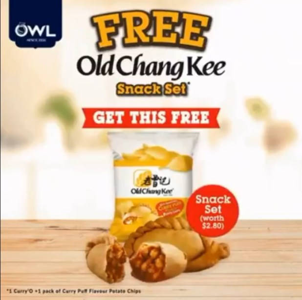 FREE Old Chang Kee Snack Set