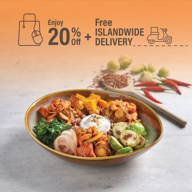tcc 20% off + free delivery 2 July 2020