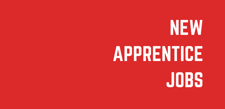 New Apprentice Jobs Announced