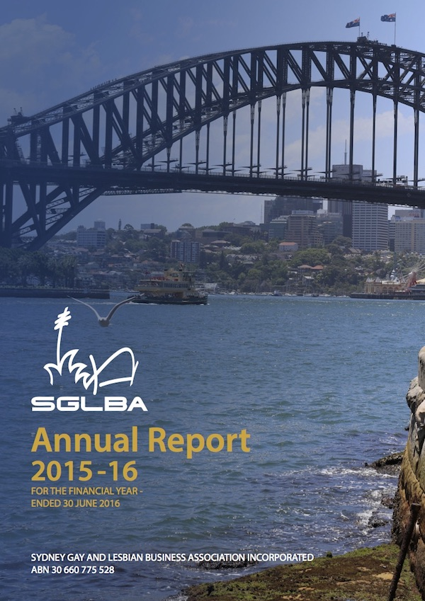 FP 2015-2016 SGLBA Annual Report