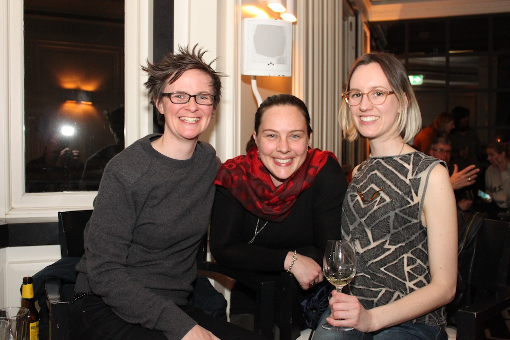 """Fiona (L) was the winner of the Lucky Door Prize, two tickets to the Networking Women Event - """"How do you like your feminism?"""", Friday 21st July, 2017 with Clementine Ford, Fran Kelly and Liberty Sanger."""