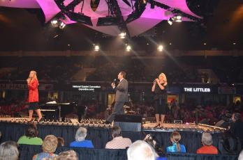 The Littles onstage nqc