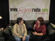 Lorraine Walker interviewing Wayne Haun 2007