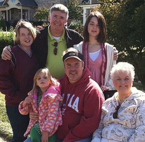 Jim Murray and Family