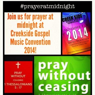 Creekside Prayer At Midnight