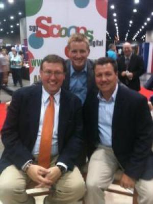 Rob Patz with Jonathan Wilburn and Jordan Wilburn