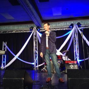Lou Hildreth Award Winner and MC, Tim Lovelace