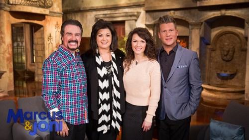 L-R: Marcus & Joni Lamb, Lindsay & Joseph Habedank Photo courtesy Daystar Television Network