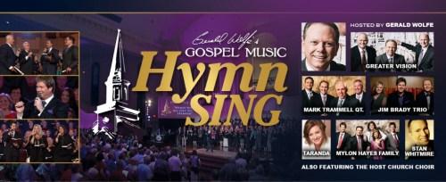Gospel Music Hymn Sing Tour Announced