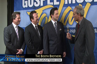 The Booth Brothers - This Week on Gospel Music Today On SGNScoops.com