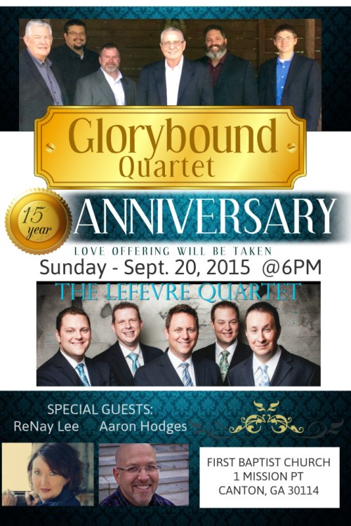 FINAL 2015 Glorybound Qt Anniv Poster