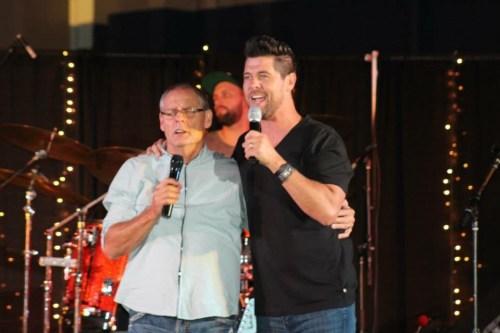 Gerald and Jason Crabb