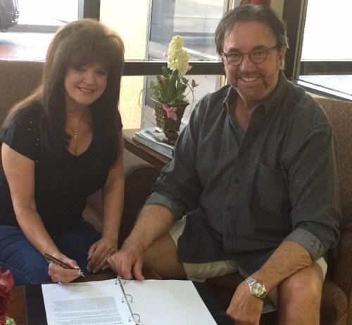 Ava Kasich, Bill Traylor at signing