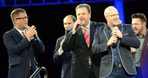 Joseph Habedank, Nick Trammell, Loren Harris, Bryan  Walker, Mike Bowling