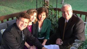 The Kramers with Les Butler