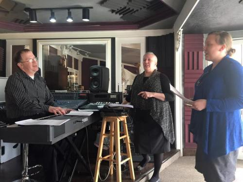 Chandlers In Studio