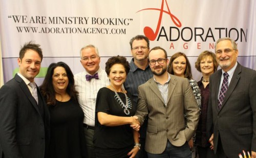 Allison Speer Signs Booking Agreement with Adoration Agency