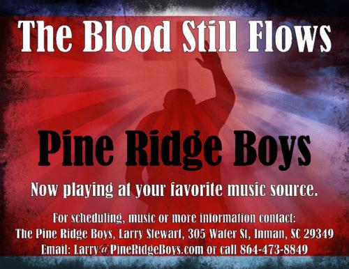 Pine Ridge Boys. Blood Still Flows