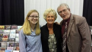 Pictured l to r: Hannah Kennedy, Nancy Carrollo and Harold Timmons