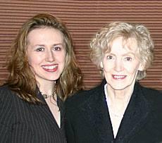 Stephanie Kelley and her mom