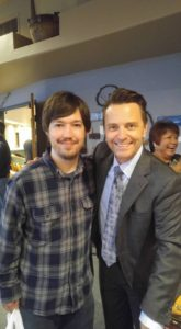Justin Gilmore with Scott Fowler of Legacy Five
