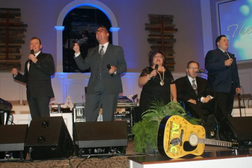 Perrys at Alabama Quartet Convention