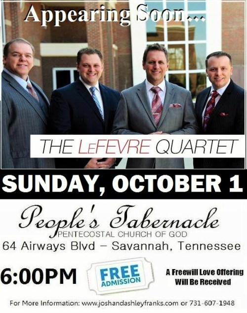 Lefevre Quartet In Concert