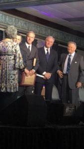 Triumphant Quartet accept 2017 Diamond Award