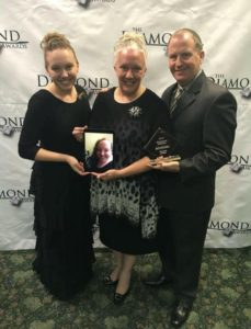 Chandlers at the Diamond Awards